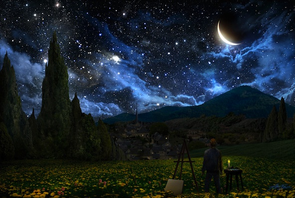 Starry Night for PI